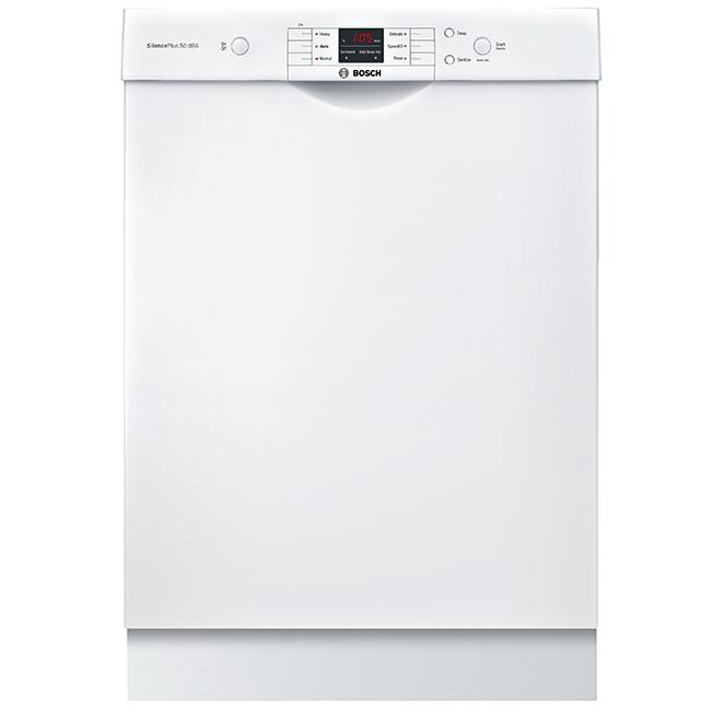 """Lave-vaisselle encastrable, série100, 24"""", 50dB, blanc"""