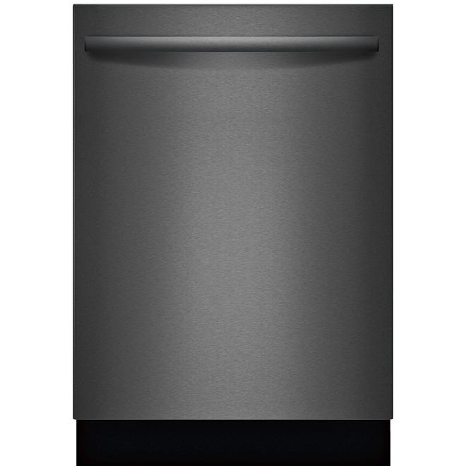 """Lave-vaisselle encastré Bosch, Série 100, 24"""", inox noir"""