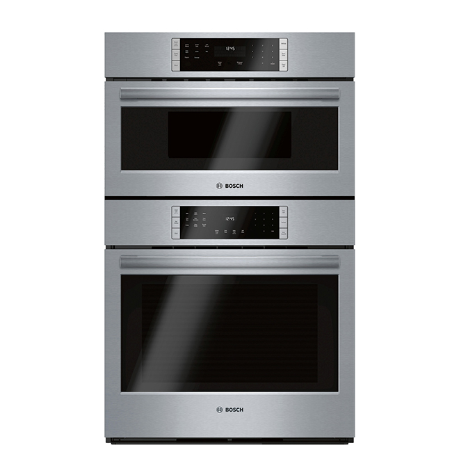 """Bosch Combination Wall Oven with Convection - 30"""" - SS"""