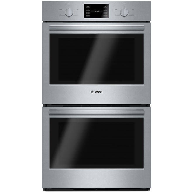 Bosch - Double Wall Oven - 500 Series - 4.6 Cft - 30'' - SS