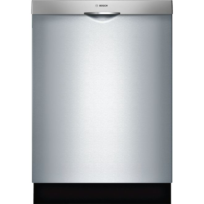 Bosch 300 Series Slide-In Dishwasher with PrecisionWash and ExtraScrub - Stainless Steel