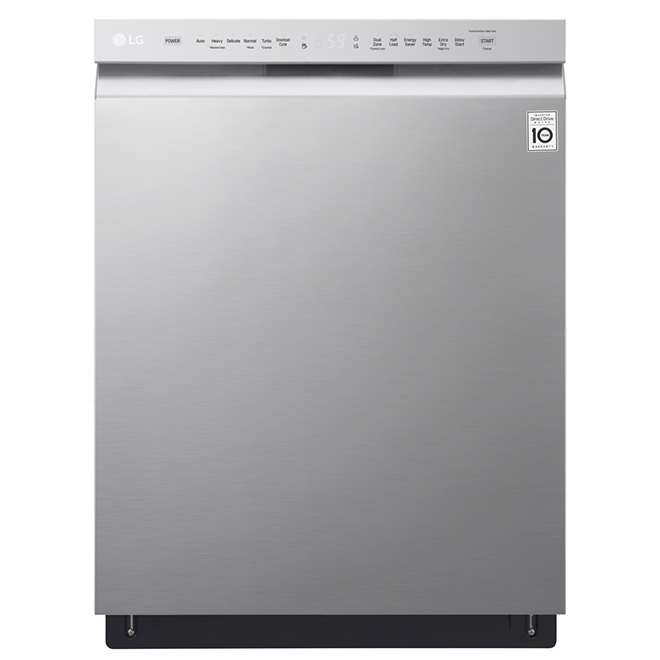 Dishwasher With Quadwash System 24 Stainless Steel