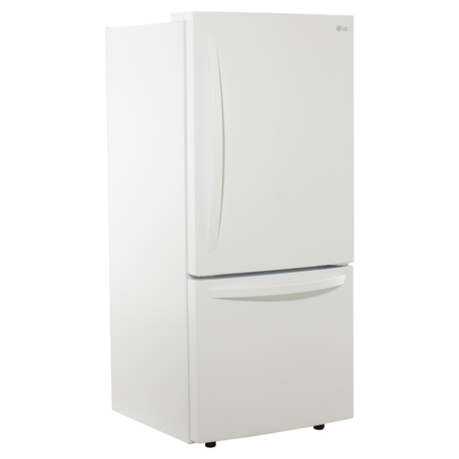 Lg Bottom Freezer Refrigerator 22 1 Cu Ft White