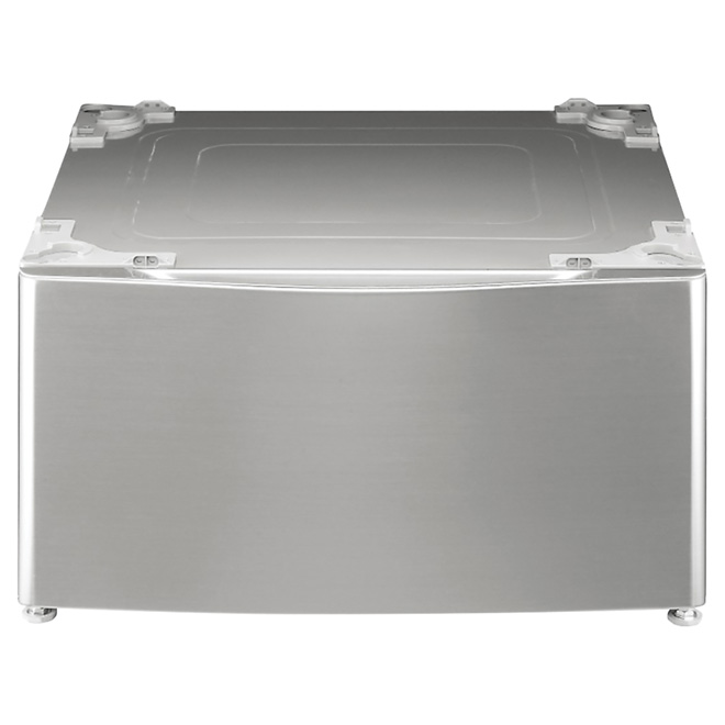 "Laundry Pedestal Drawer - 27"" -  Graphite Steel"