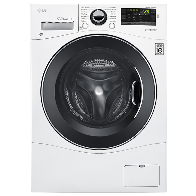"Front-Load Washer - 24"" - 2.6 cu. ft. - White"