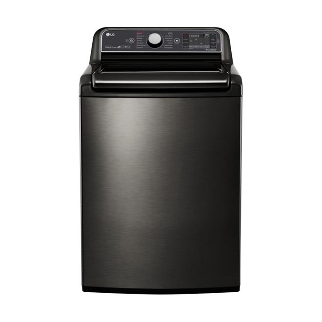 """Laveuse avec vapeur et TurboWash(MD), 27"""", 6 pi³, inox noir"""