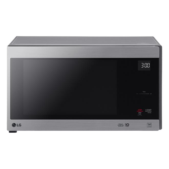 Micro-onde de comptoir, 1,5 pi³, acier inoxydable