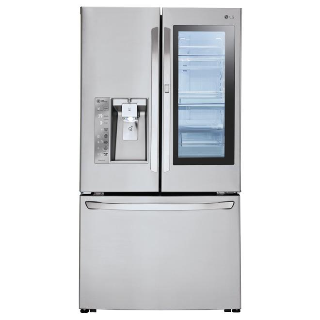 Lg French Door Refrigerator With Door In Door 36 30 Cu Ft