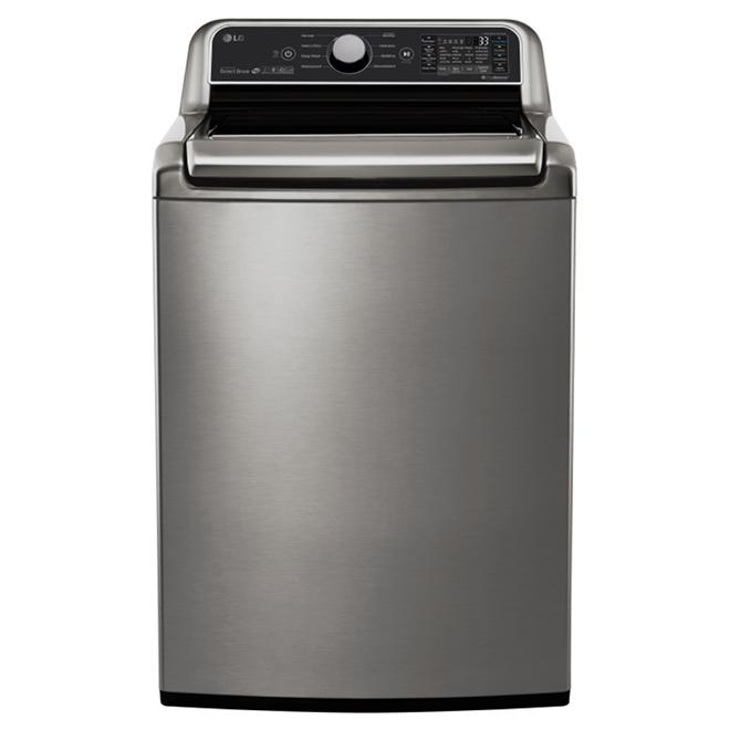 Laveuse à chargement supérieur, TurboWash(MD), 5,8pi³, inox