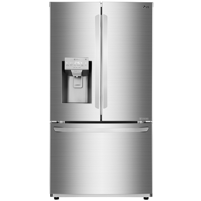 "French-Door Refrigerator - 36"" - 22.1 cu. ft. - SS"