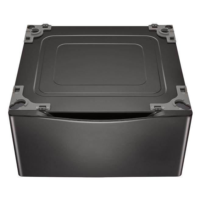 """LG Washer Pedestal - 27"""" - Black Steel"""