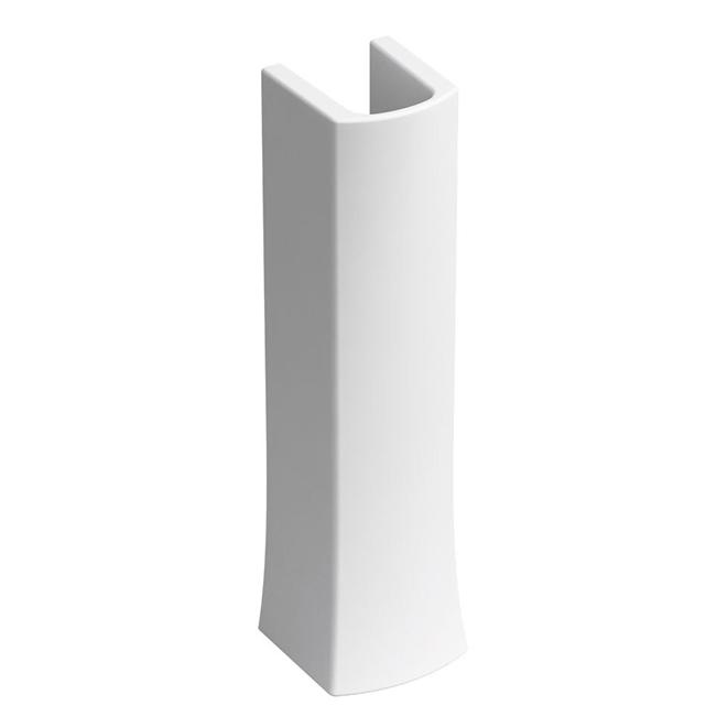 Elliston Pedestal Sink Base - Porcelain - White