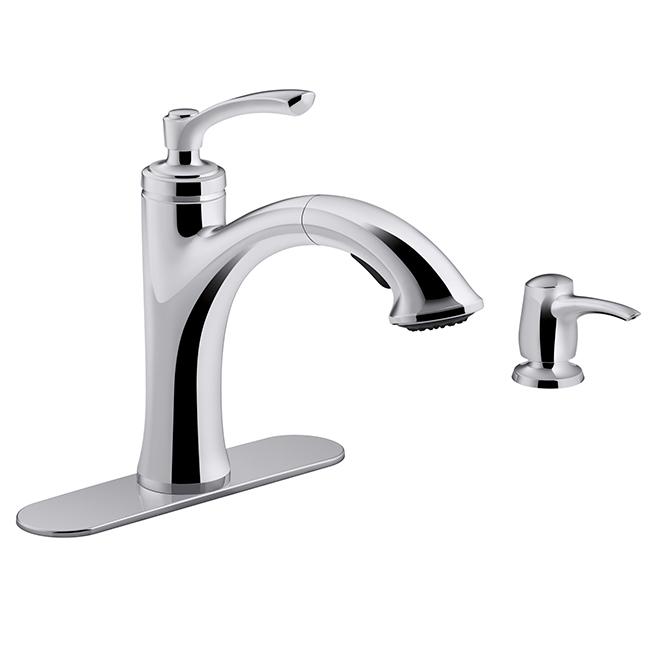 Elliston Single Lever Kitchen Faucet Chrome
