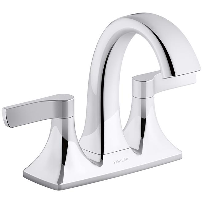 KOHLER Maxton Bathroom Faucet - 2 Handles - Polished Chrome R22476-4D-CP | Réno-Dépôt  sc 1 st  Réno-Dépôt & KOHLER Maxton Bathroom Faucet - 2 Handles - Polished Chrome R22476 ...