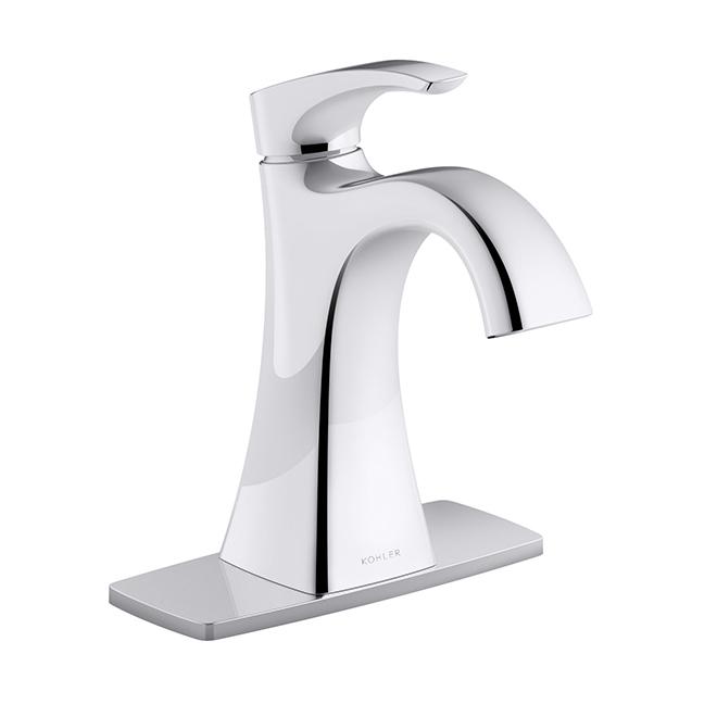 Maxton Bathroom Faucet - 1 Handle - Polished Chrome