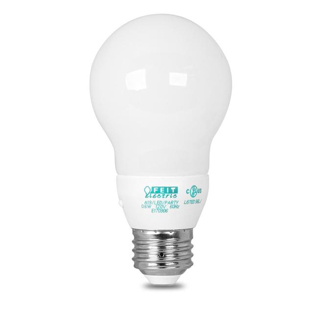 Ampoule A19 E26 0,6 W, spectre complet