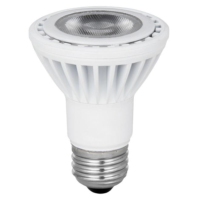 Ampoule PAR20 E-26, intensité variable 9,5 W, blanc doux