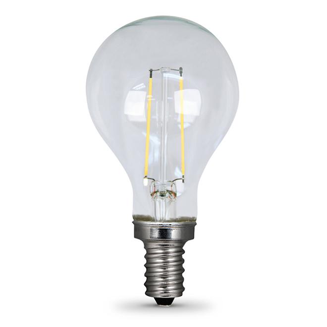 Ampoule DEL A15 E-12, variable 6 W, lumière du jour, 2/pqt