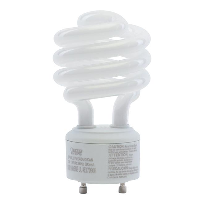 Ampoule fluocompacte en spirale, 23 W, lumière du jour