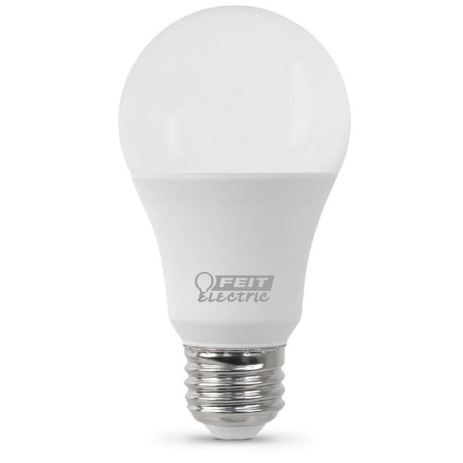 Ampoule DEL A19 Feit Electric, 10 W, non-réglable, lumière du jour, paquet de 24