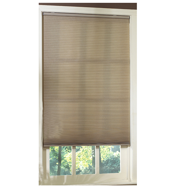 "Cordless Light-Filtering Cellular Shade - 46"" x 64"" - Linen"