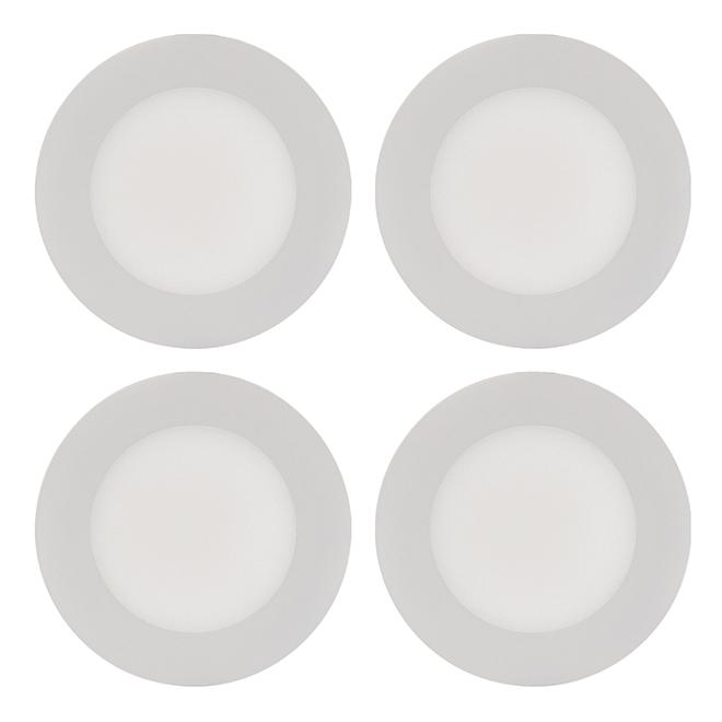 THINLED(TM) Recessed Light - 9W - White - 4/PK