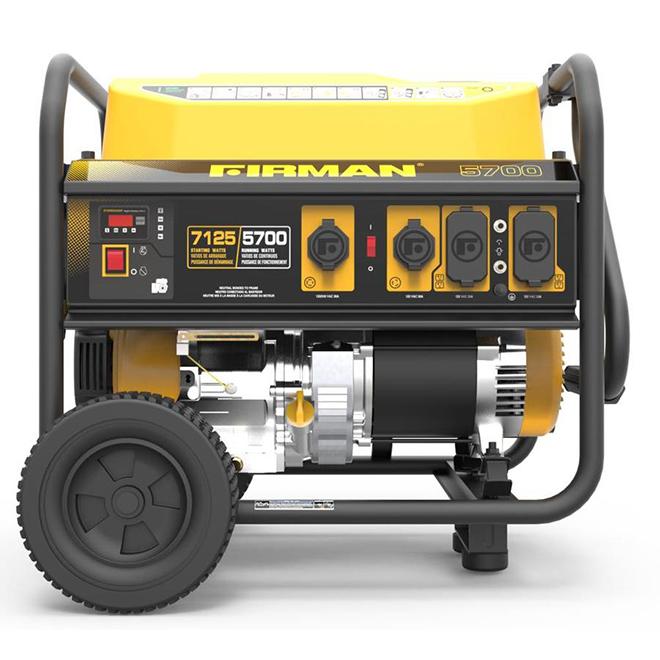 Génératrice portative à essence Firman, 5 700 W, 6 prises