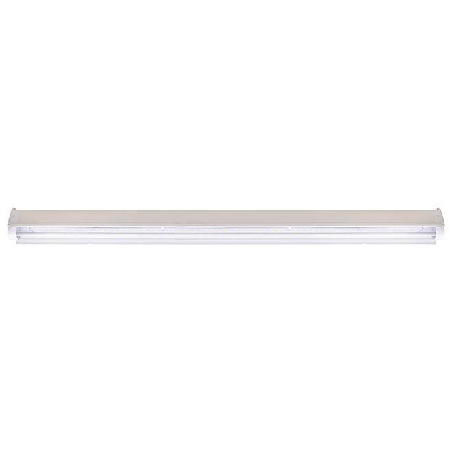 GE Fluorescent Grow Light Tube - 30-Watt - Plastic Fixture - 48-in L