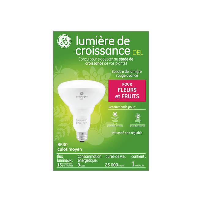 Grow Light LED Bulb for Plant -  BR30 - 9 W - Plastic