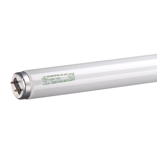 GE Fluorescent Tube - T-12 - 40-Watt - 48-in L - Medium Bi-Pin