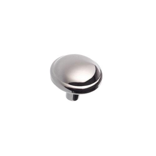 Bouton en métal chrome