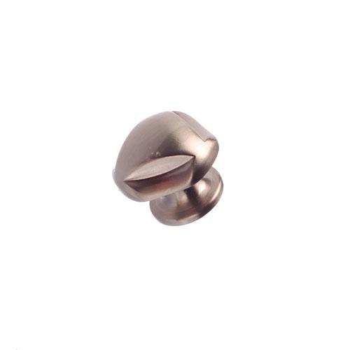 Bouton en métal nickel brossé