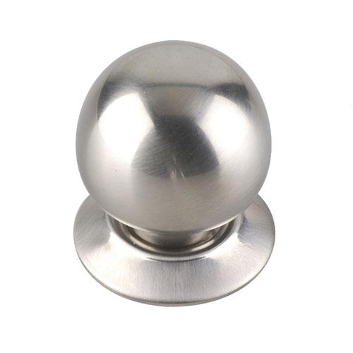 Richelieu Classic Metal Knob - Brushed Nickel