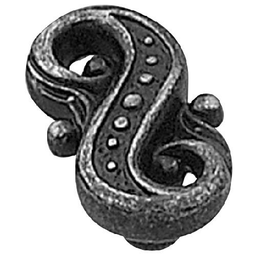 Bouton « éclectique » en métal