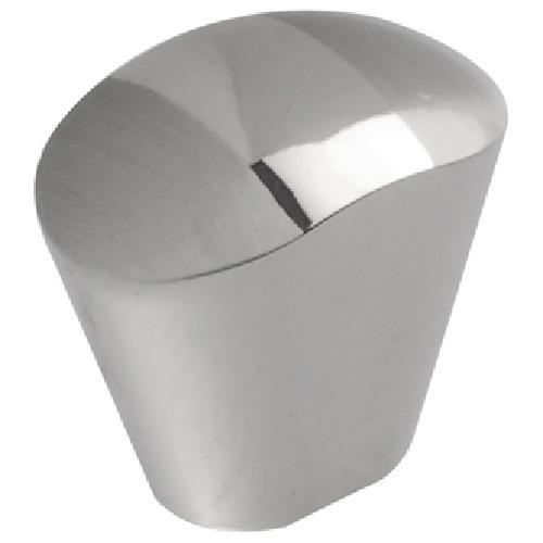 Metal Knob Chrome and Brushed Nickel
