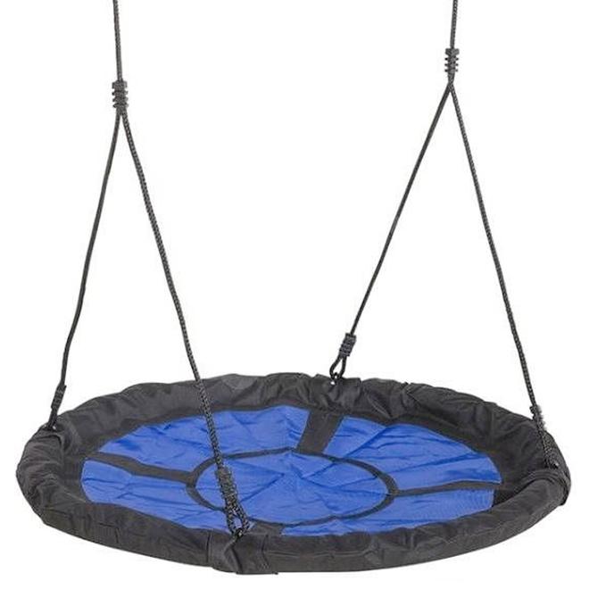 Balançoire planeuse en nid Playstar, nylon, bleu