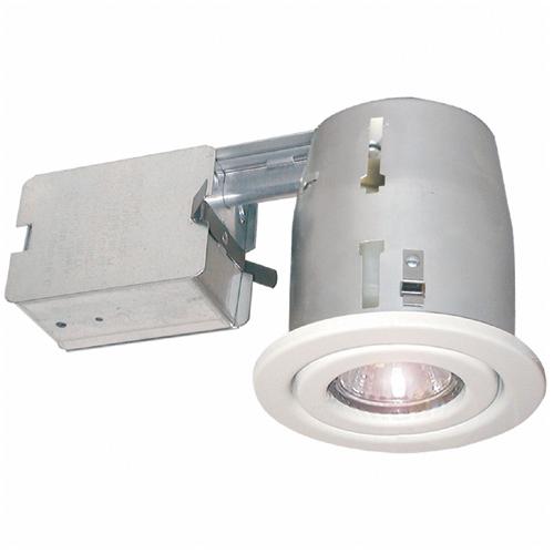 Luminaire halogène orientable à encastrer 50W, 10/pqt