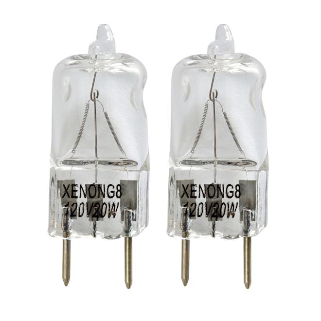 20-W halogen bulb