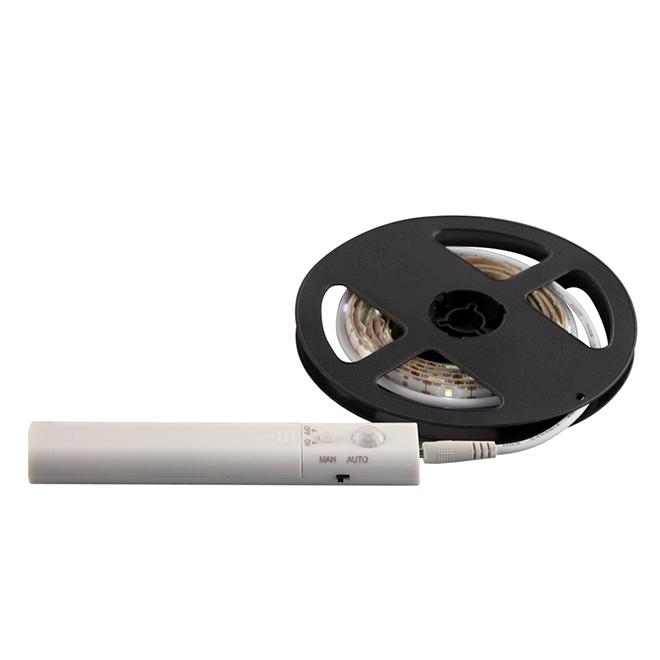 Battery Powered LED Light Strip - Motion Detector - 3'