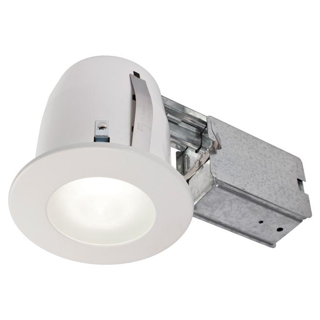 Luminaire encastré halogène pour salle de bain