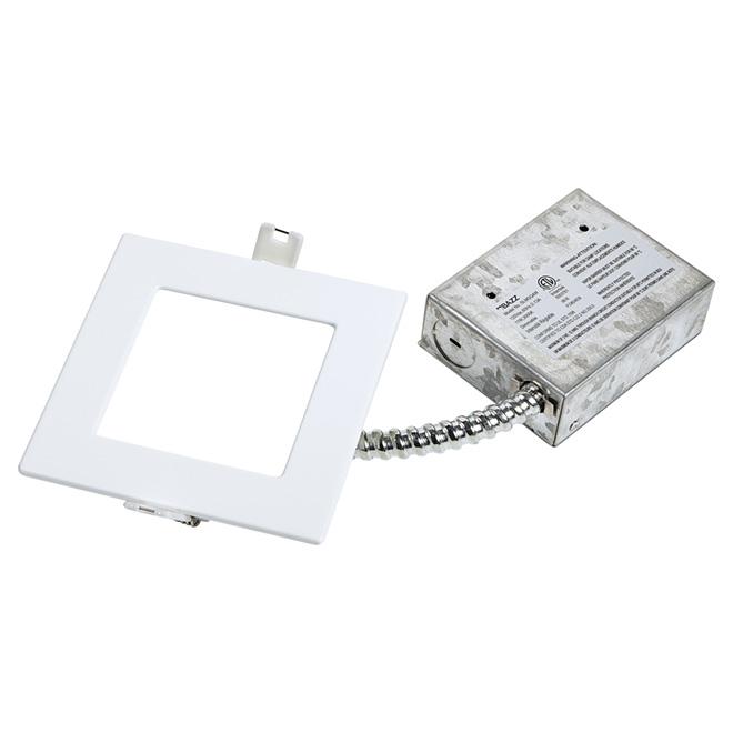 Luminaire encastré à intensité réglable, SLIM, DEL 11 W