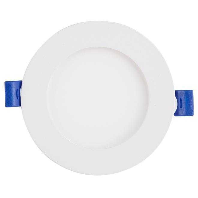 Lumière encastrée, intensité réglable, DEL 11 W, blanc mat