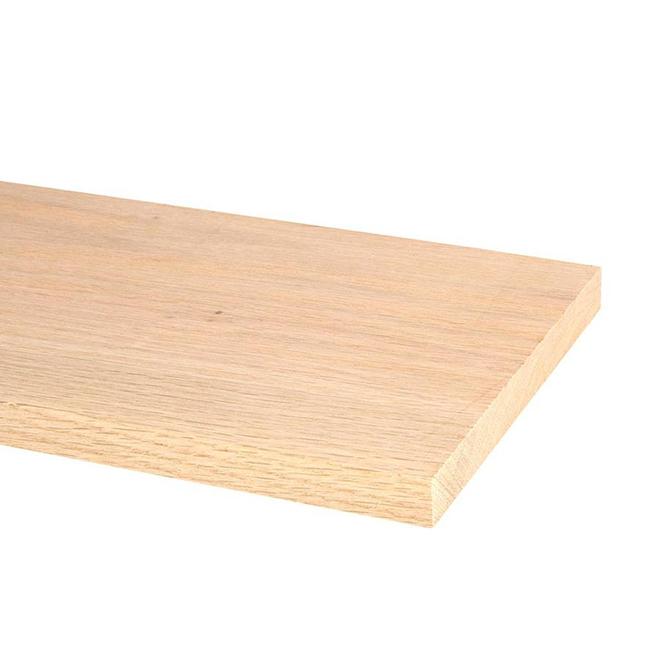 Oak 1 in x 8 in x 8 ft