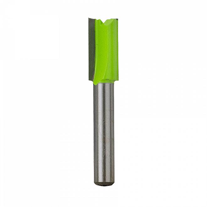 """Mèche de toupie droite EAB Tool 3/8"""" x tige 1/4"""" - Professionnel - échangeable"""