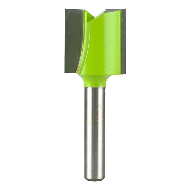 """Mèche de toupie droite EAB Tool 3/4"""" x tige 1/4"""", professionnel, échangeable"""