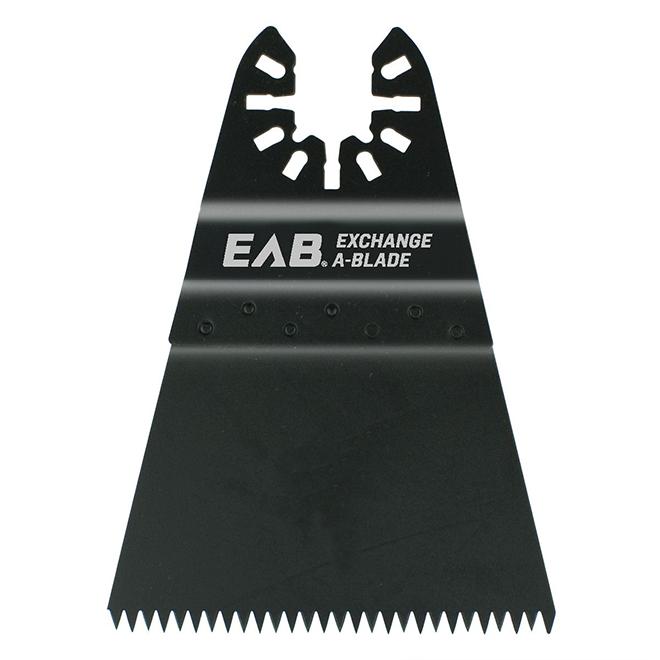 EAB Universal Oscillating Speedy Flush Cut Blade - High-Carbon Steel - 1 Per Pack - 3 1/2-in L x 2 3/4 in W