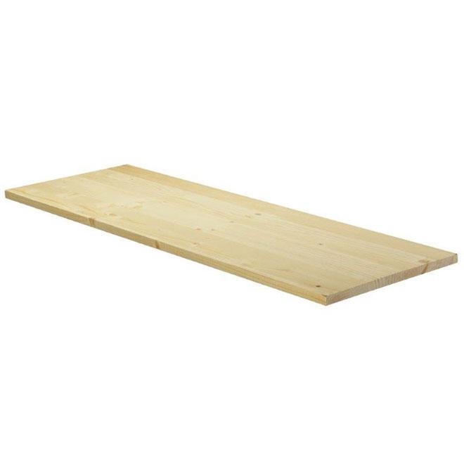 """11/16x8x36"""" Edge-Glued Panel """"Hobbyboard"""" - Spruce"""
