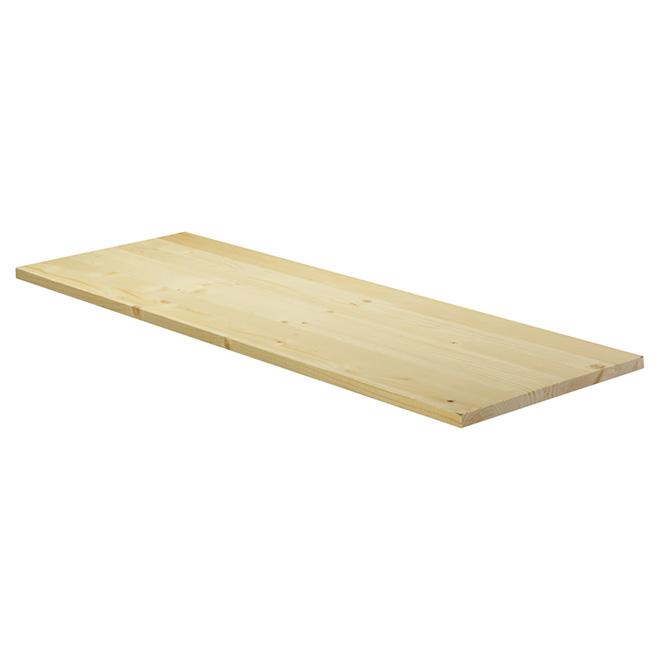 """11/16x24x36"""" Edge-Glued Panel """"Hobbyboard"""" - Spruce"""