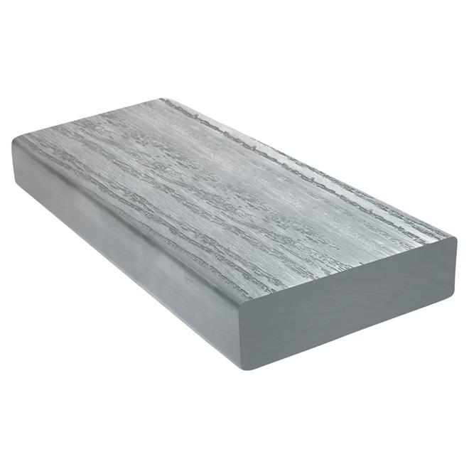 Madrier pour marche «Perma-Deck», 1 7/16'' x 5 3/8'' x 36'', gris