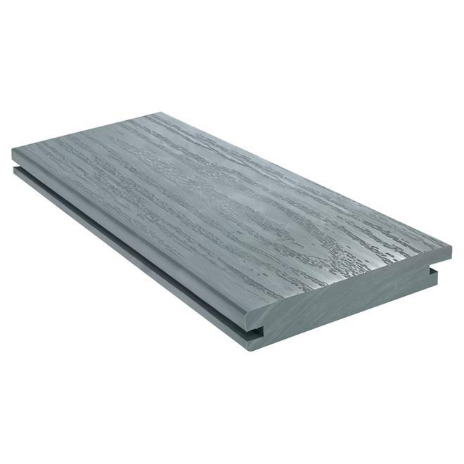 Planche pour terrasse «Perma-Deck», 1'' x 5 9/16'' x 6', gris